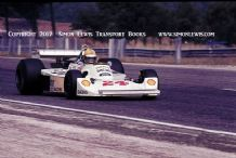 Hesketh 308. Photo Harald Ertle French GP 1976
